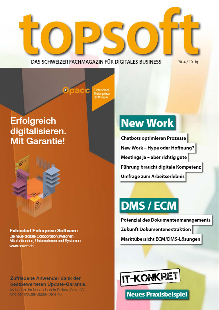 moonen communications im topsoft fachmagazin